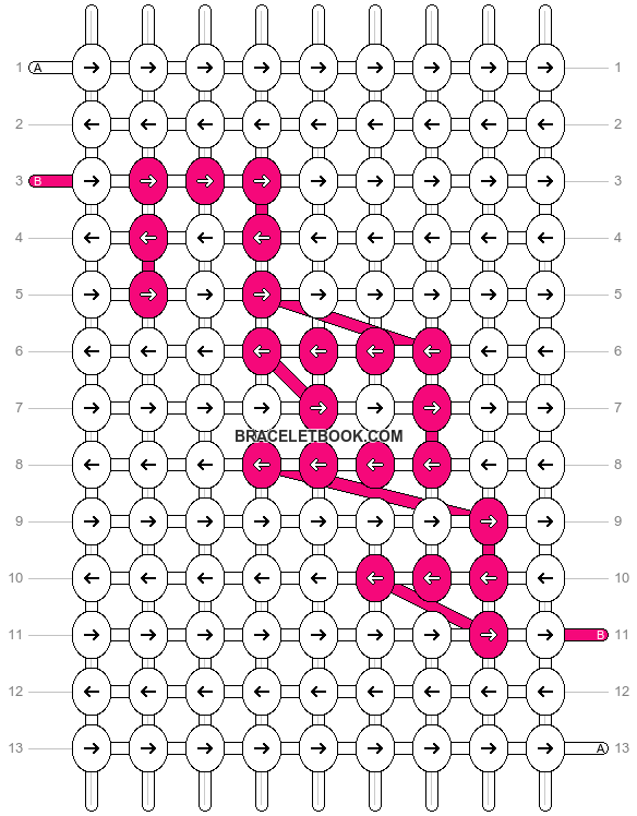 Alpha pattern #7078 pattern