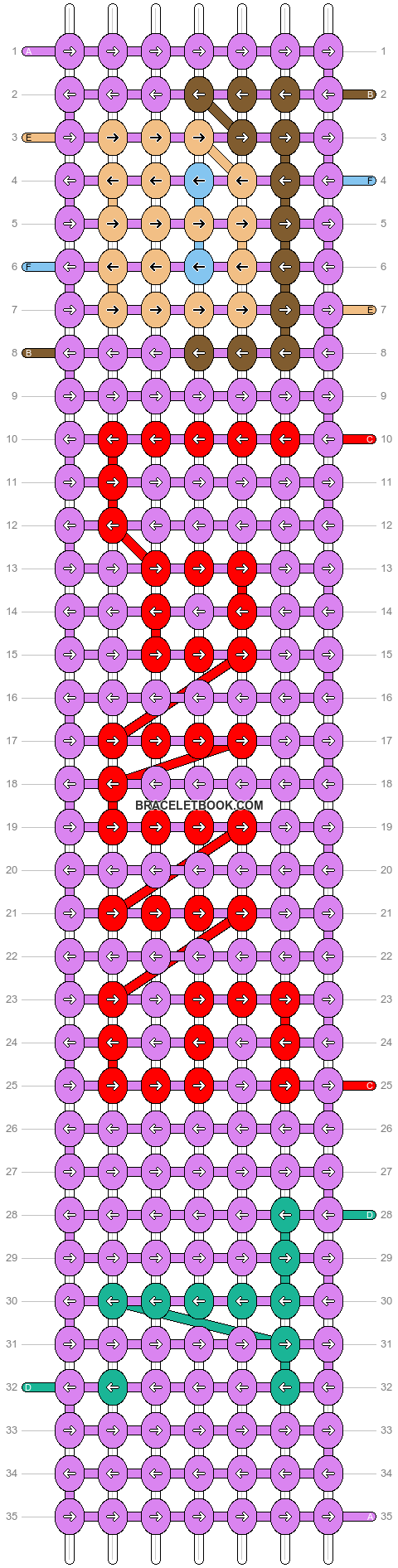 Alpha pattern #7083 pattern