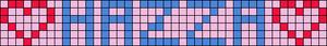Alpha pattern #7089