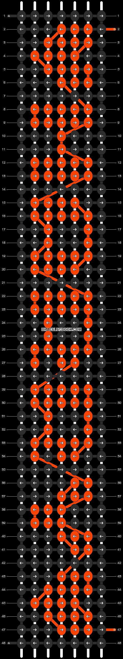 Alpha pattern #7095 pattern