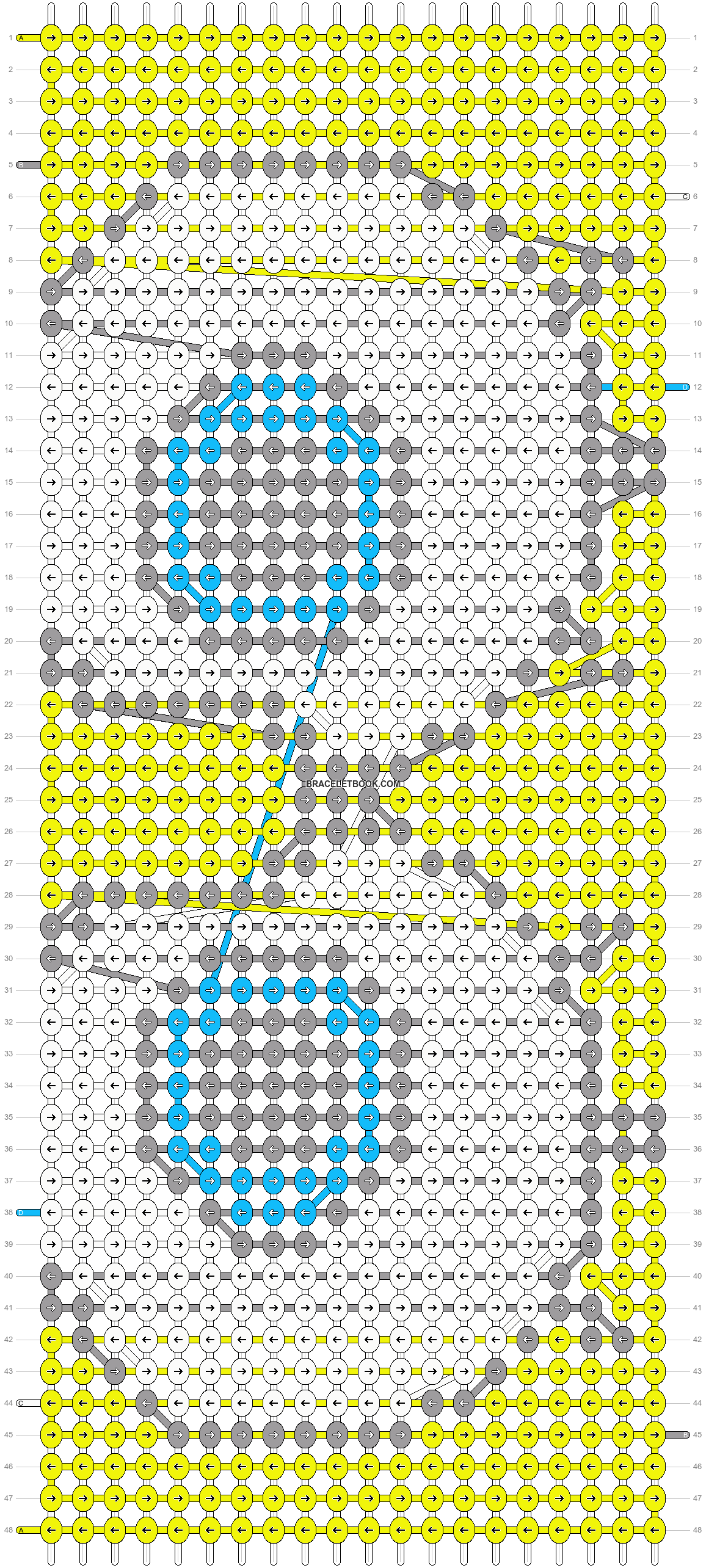 Alpha pattern #7099 pattern