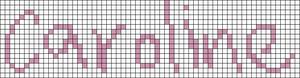 Alpha pattern #7100