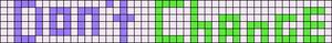 Alpha pattern #7104
