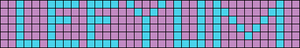 Alpha pattern #7105