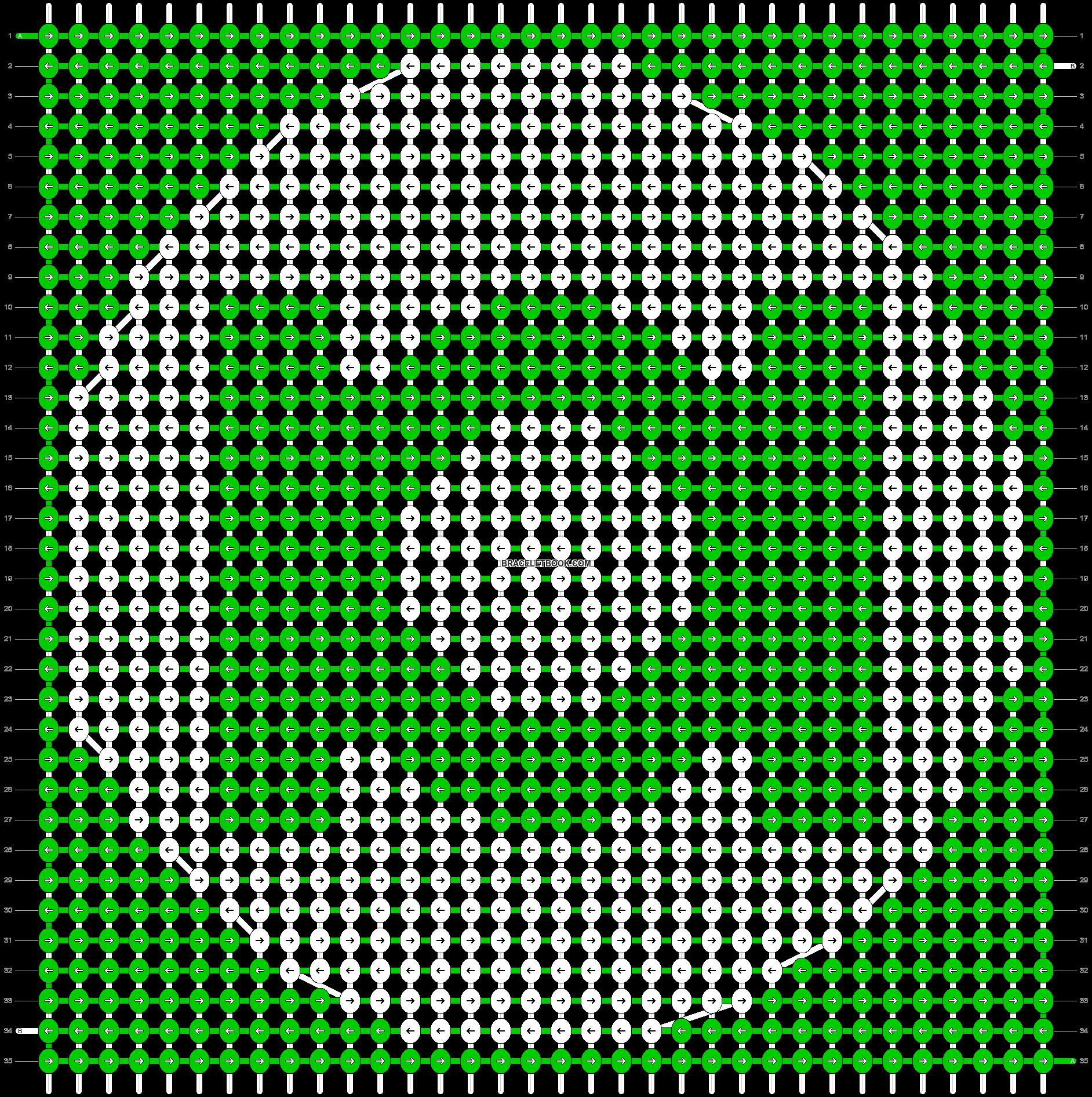 Alpha pattern #7110 pattern