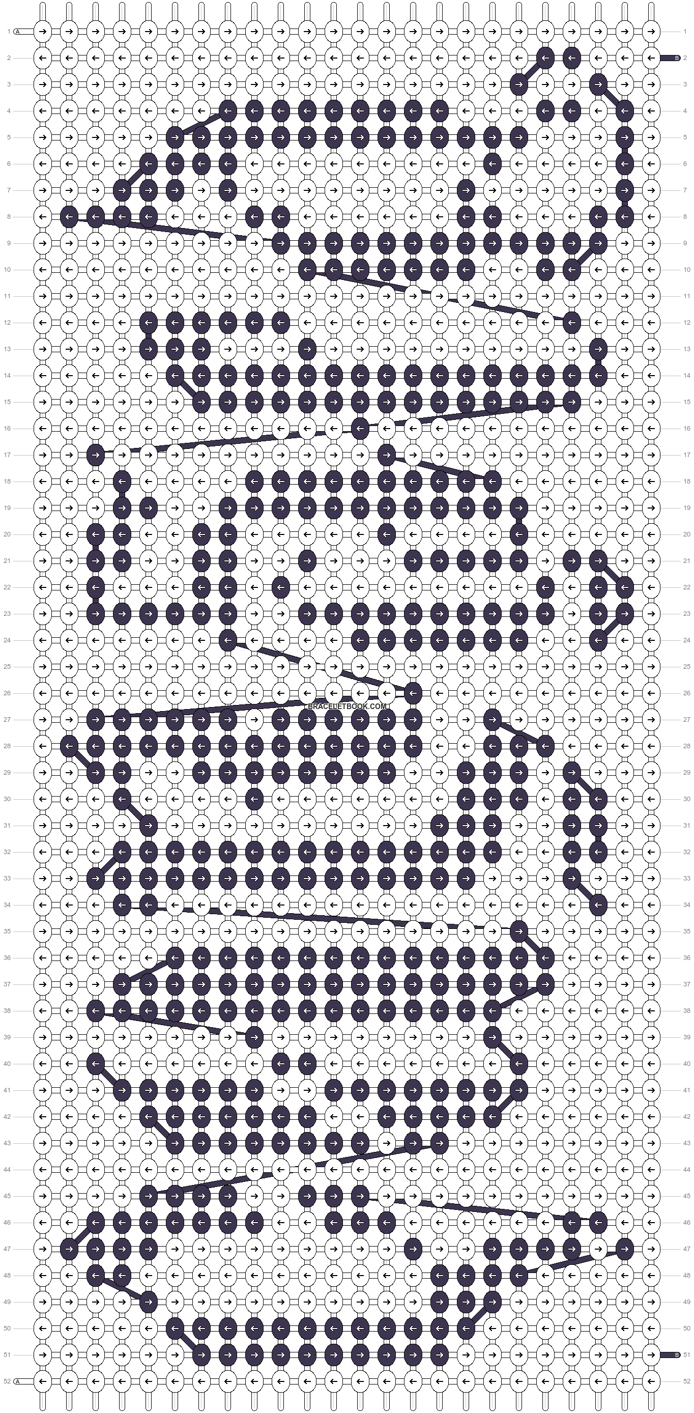 Alpha pattern #7114 pattern