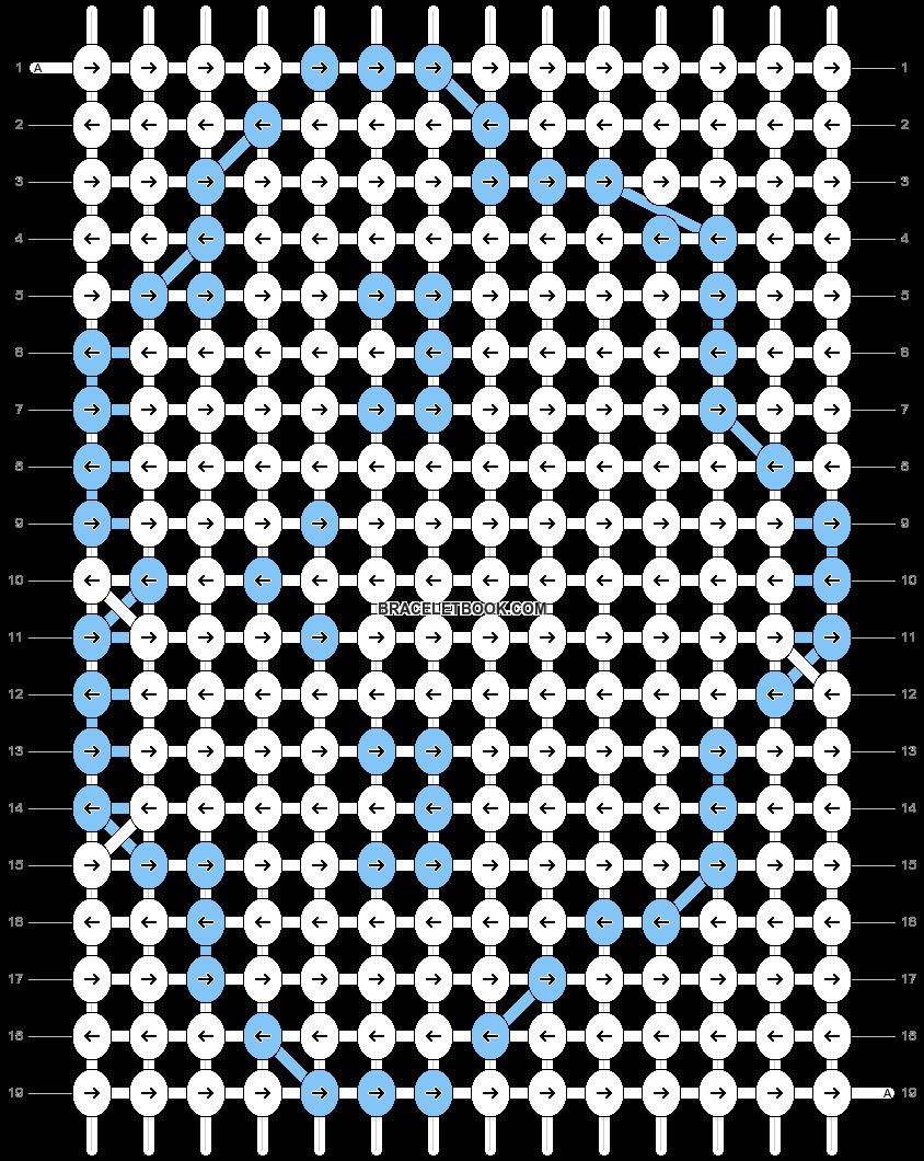 Alpha pattern #7115 pattern