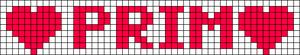 Alpha Friendship Bracelet Pattern #7120