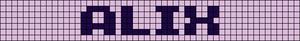 Alpha pattern #7121