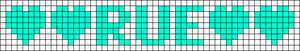 Alpha Friendship Bracelet Pattern #7122