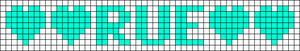 Alpha pattern #7122