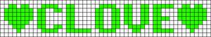 Alpha Friendship Bracelet Pattern #7123