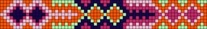 Alpha Friendship Bracelet Pattern #7127