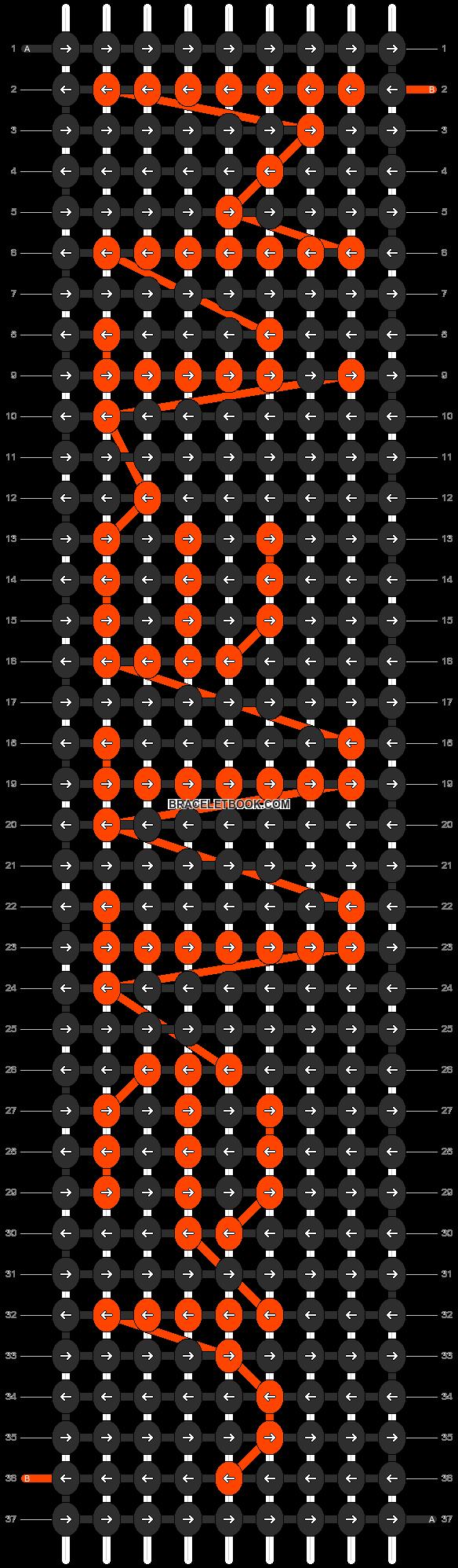 Alpha pattern #7131 pattern