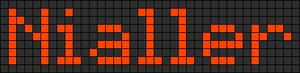 Alpha pattern #7131