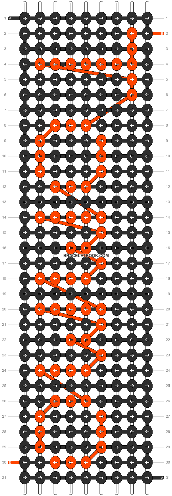 Alpha pattern #7132 pattern