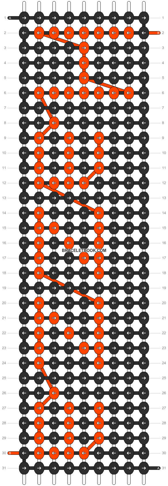Alpha pattern #7133 pattern