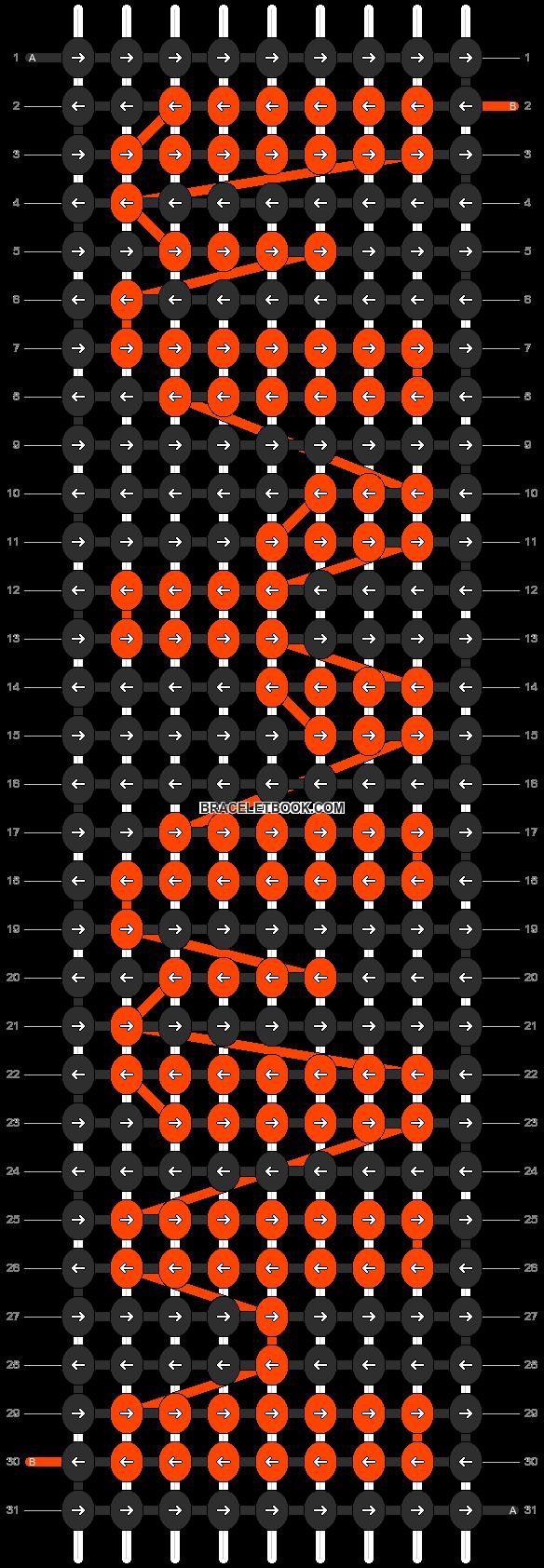 Alpha pattern #7140 pattern