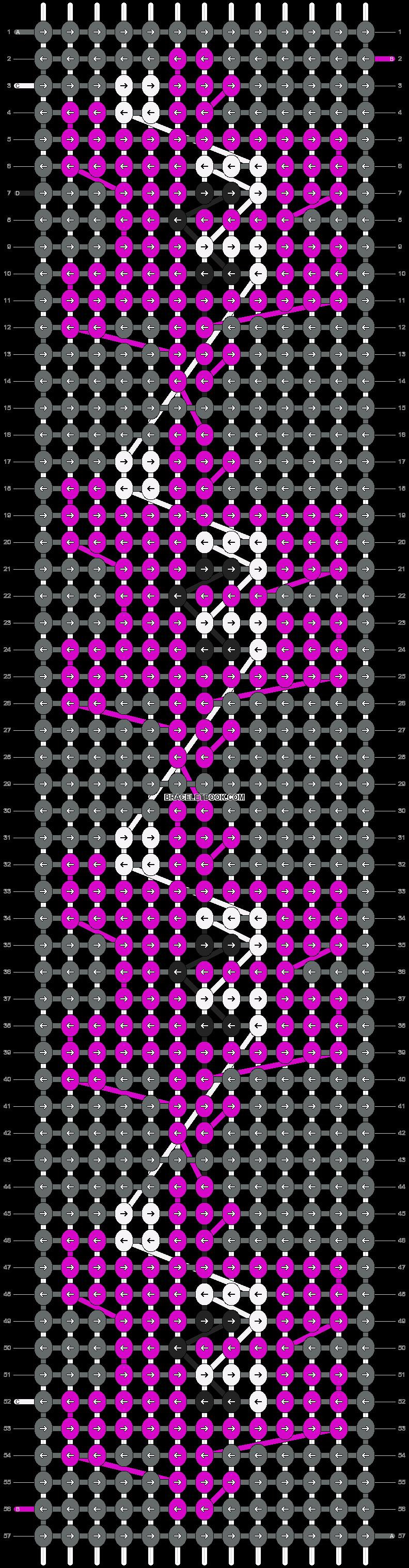 Alpha pattern #7142 pattern