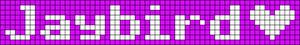 Alpha pattern #7145