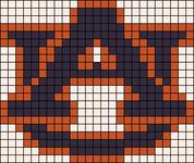 Alpha pattern #7152