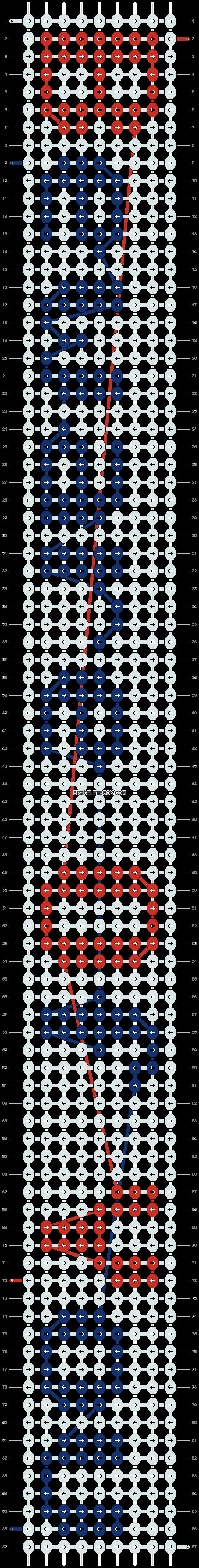 Alpha pattern #7157 pattern