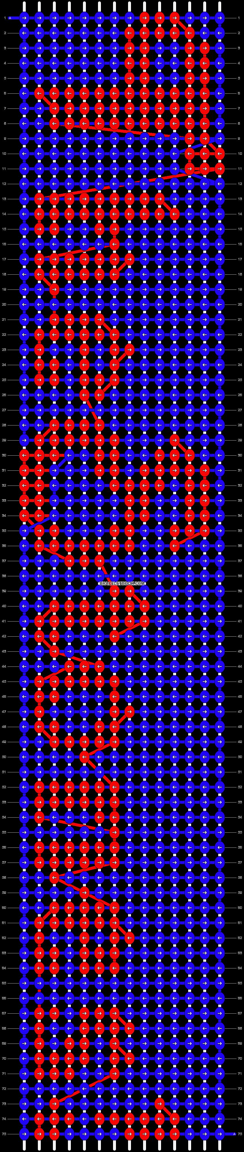 Alpha pattern #7159 pattern