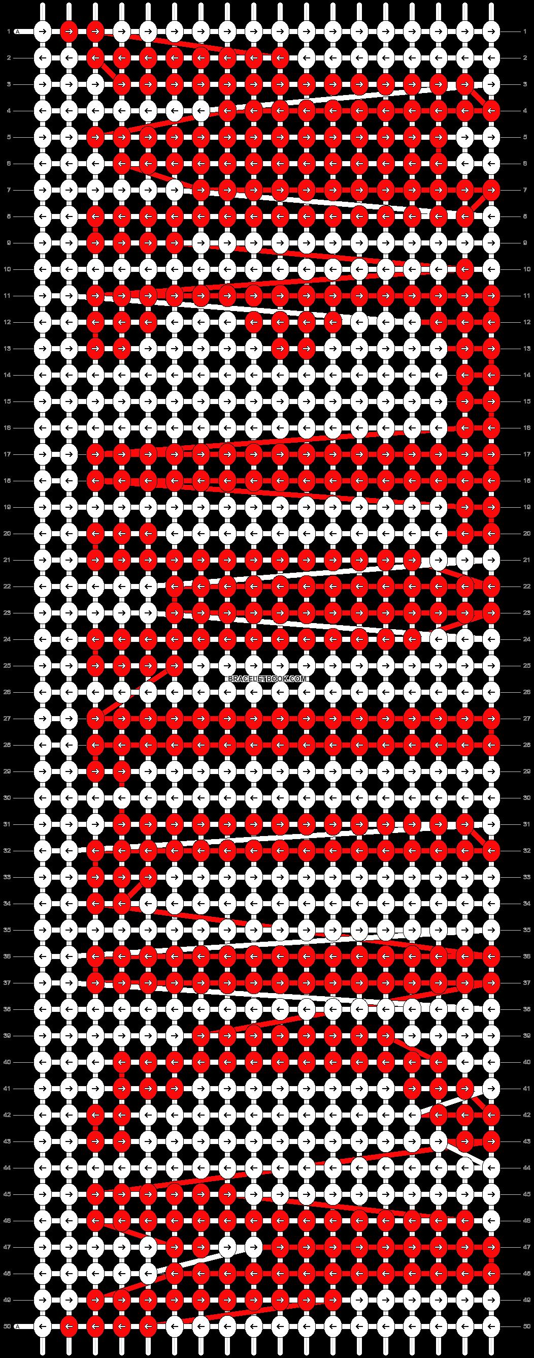 Alpha pattern #7160 pattern