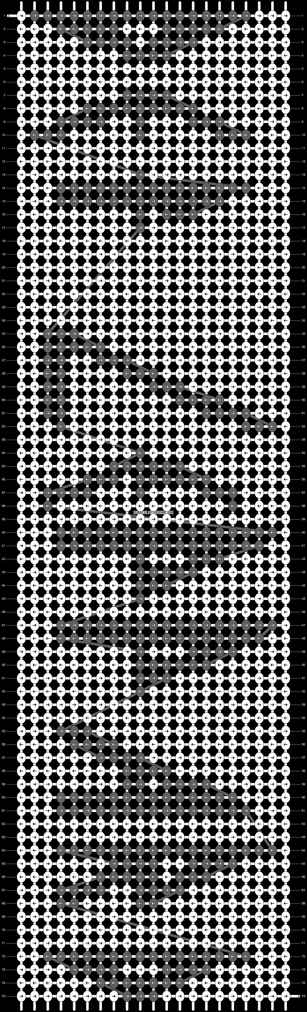 Alpha pattern #7164 pattern