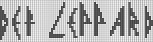 Alpha pattern #7164