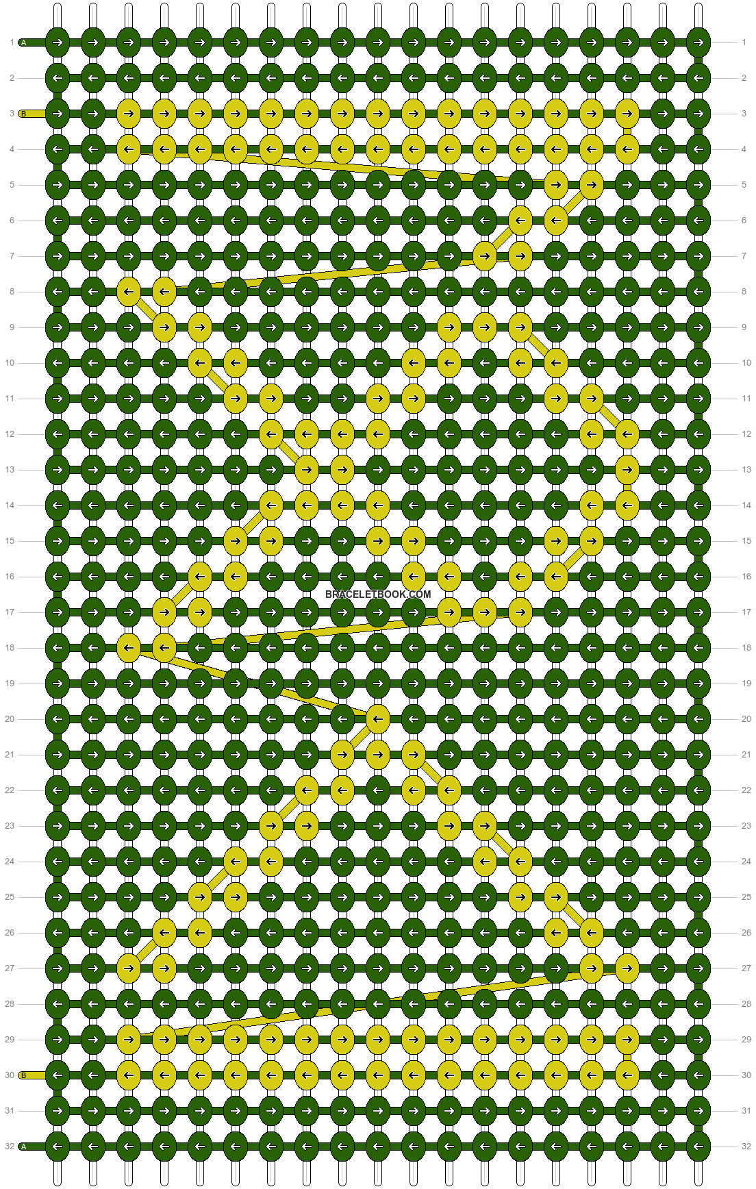Alpha pattern #7175 pattern