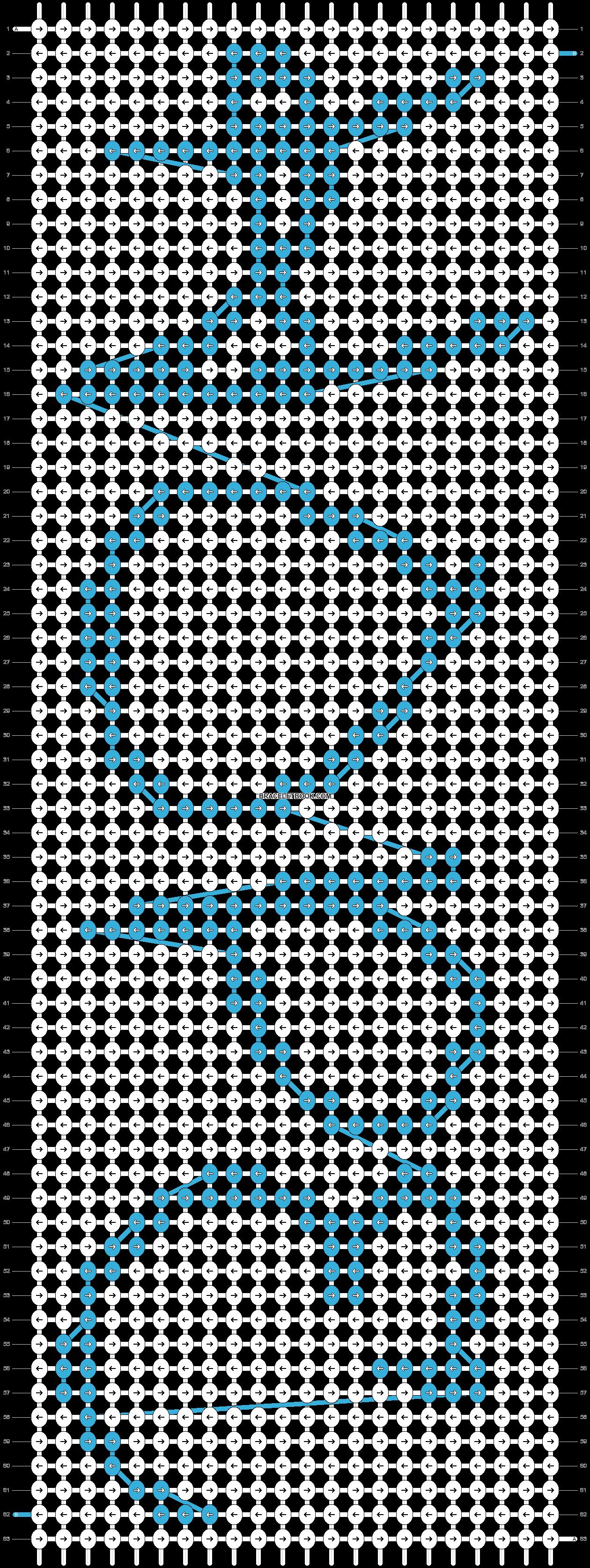 Alpha pattern #7182 pattern