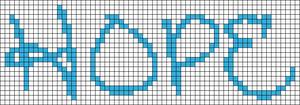 Alpha Friendship Bracelet Pattern #7182
