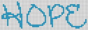 Alpha pattern #7182