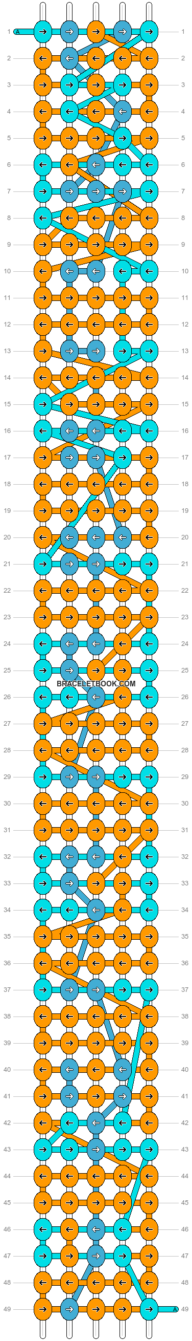 Alpha pattern #7186 pattern