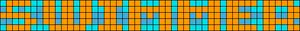 Alpha Friendship Bracelet Pattern #7186