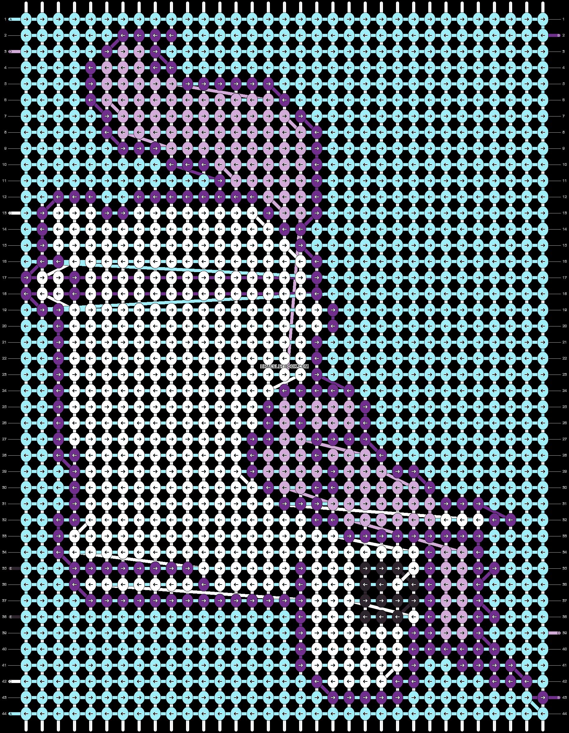 Alpha pattern #7188 pattern