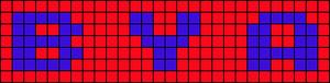 Alpha pattern #7191
