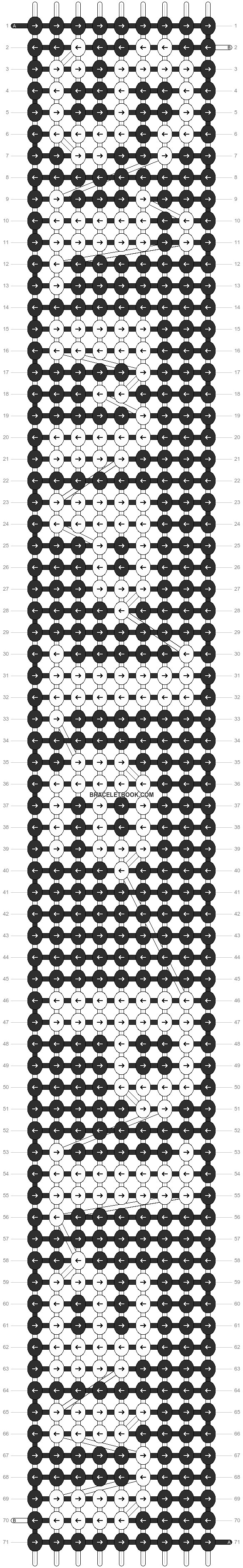 Alpha pattern #7194 pattern