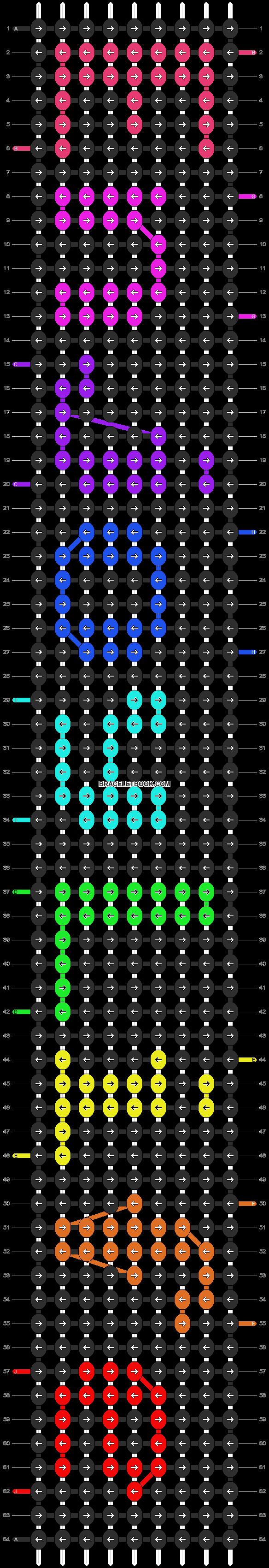 Alpha pattern #7196 pattern