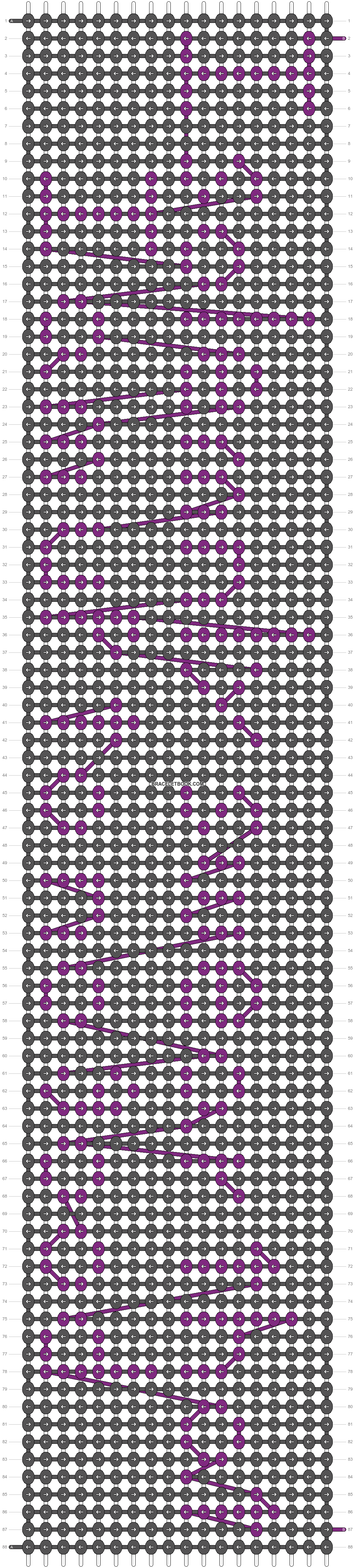 Alpha pattern #7197 pattern