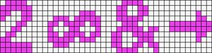 Alpha pattern #7200
