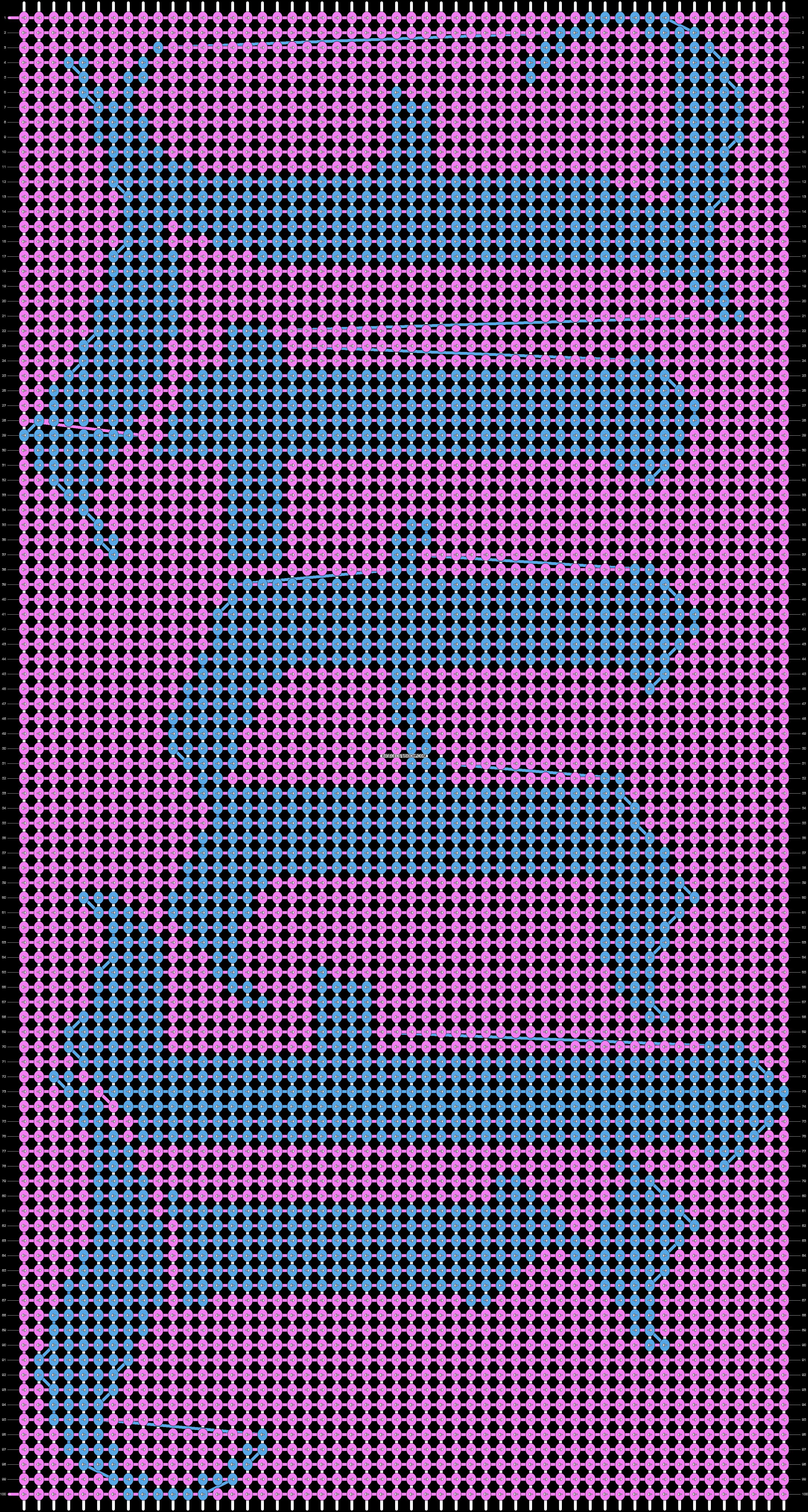 Alpha pattern #7201 pattern