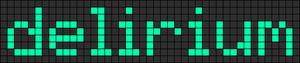 Alpha pattern #7206