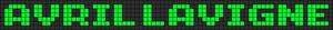 Alpha pattern #7207