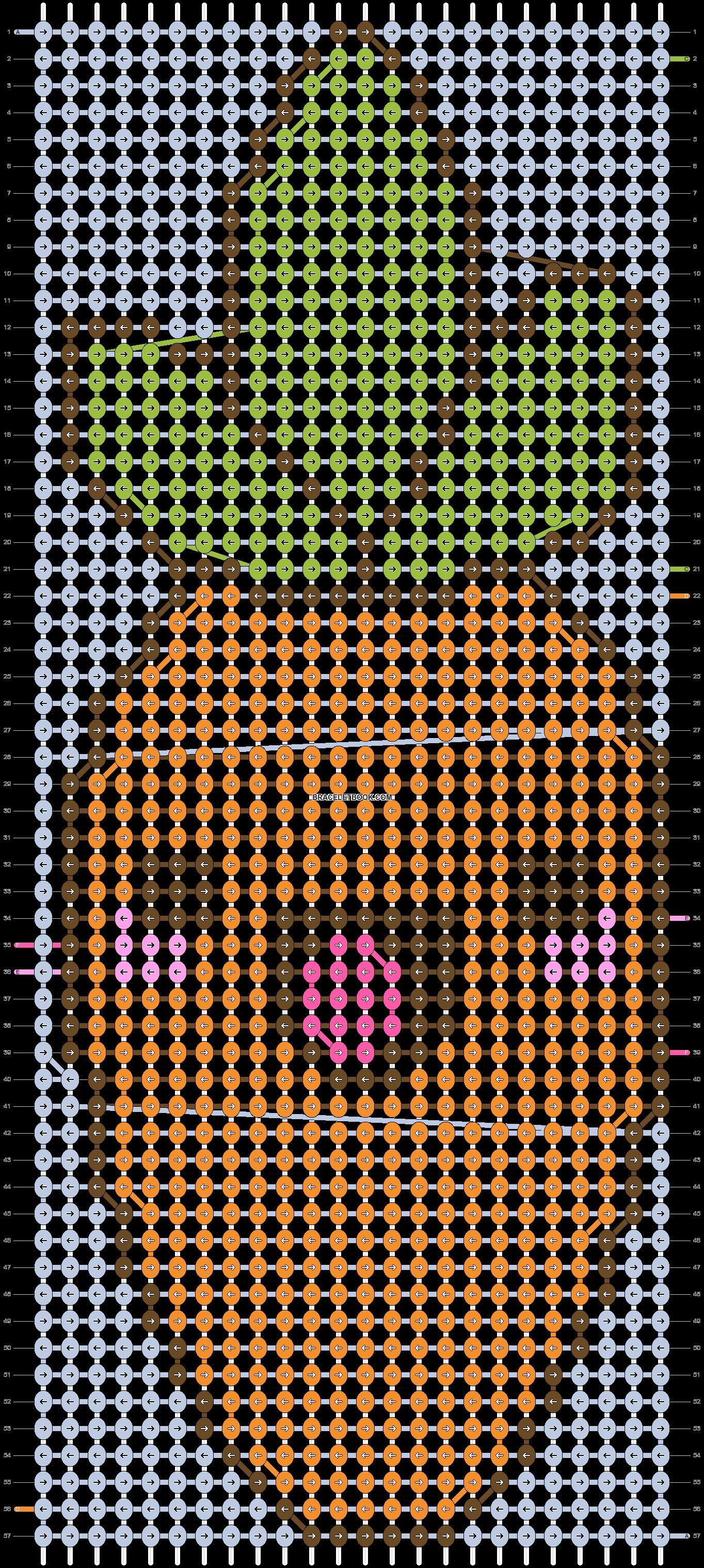 Alpha pattern #7214 pattern