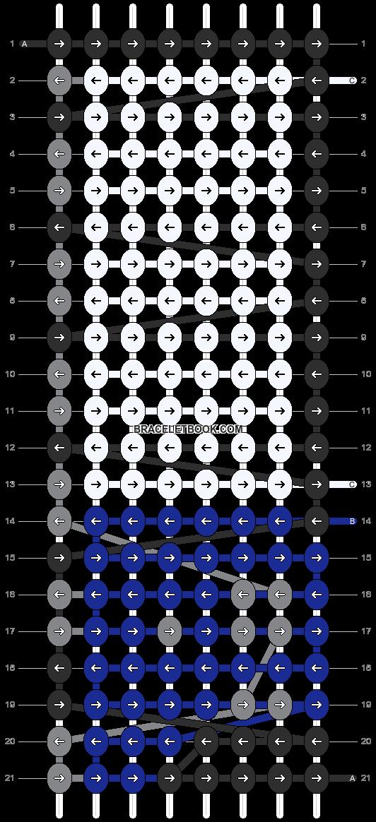 Alpha pattern #7227 pattern