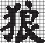 Alpha pattern #7230