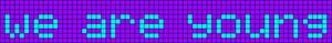 Alpha pattern #7231