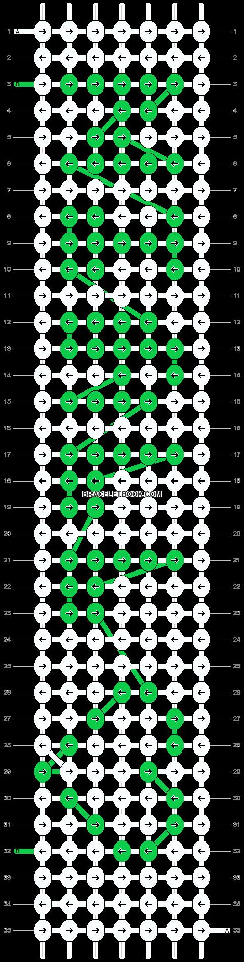 Alpha pattern #7232 pattern